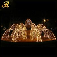 2014 new product white fiber wedding mandap decoration