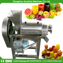 Commerical apple orange carrot ginger juice extracting juicer machine