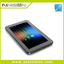 Allwinner A23 7 inch tablet with removable battery 86V