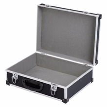 aluminum tool case carrying box storage briefcase