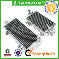 high strength motorcycle aluminum racing radiator for dirt bike
