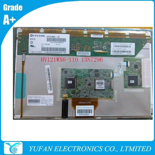 multitouch laptop lcd replacement for X200T HV121WX6-110 13N7296