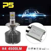 Chinese supplier Auto LED headlight 4500LM H4 45W High Power LED car Headlight with awesome brightness CE,RoHS