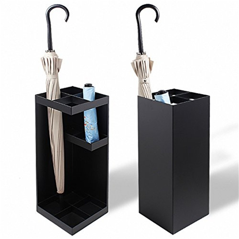 Smart Umbrella Stand White/Black