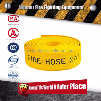 Light weight PVC lining fire pump discharge hose