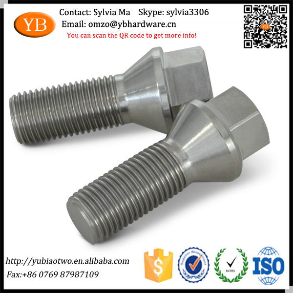 TS16949 High Quality Conical Lug Bolt