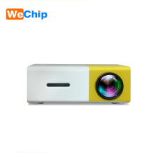 2018 best selling home theater projectors video play LED portable pocket mini projector YG300 projector