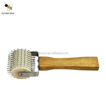competitive stainless steel propolis uncapping roller for beekeeping equip
