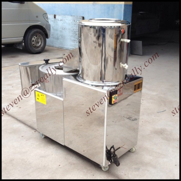 potato chips making machine/potato fries cutting machine/potato peeling cutting machine