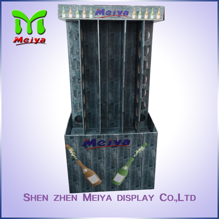 High quality custom colorful corrugated retail display OEM & ODM service