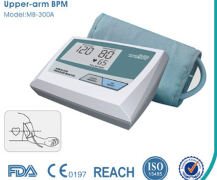 CE Approved Fully Automatic Upper Arm Style blood arm pressure monitor
