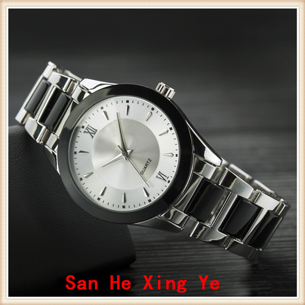 2017 new custom dial metal round quartz man watch