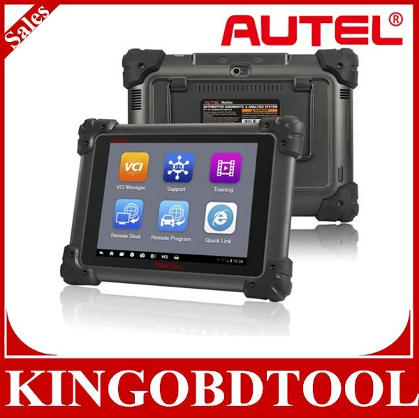 2014 Automotive Diagnostic & ECU Reprogramming tool with j2534,Autel Maxisys Pro can do online programming Alibaba High quality