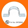 "1/2"" EMT Conduit Strap Two Hole with"