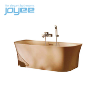 JOYEE freestanding cast iron clawfoot bathtub for two free standing soaking tubs for small spaces