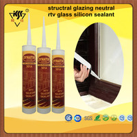 Trade Assurance $18.000 structral glazing neutral rtv glass silicon sealant