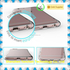 Tenchen newest transparent tpu phone case, tpu skin case shockproof case for Iphone