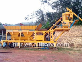 YHZS-25 Mobile concrete batching plant