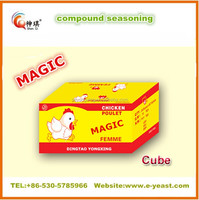 4g chicken flavor seasoning cube good quality are popular in Nigeria market