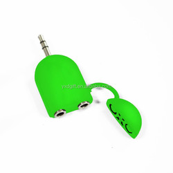 2016 Newest 2 way music splitter for iphone &andriod