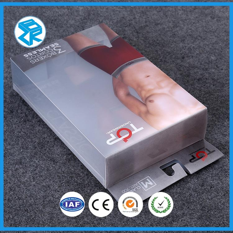 Factory Cheap Plastic Transparent Pvc Folded Blister Package Cosmetic Packaging Box