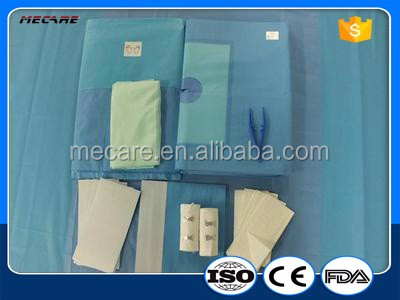 Sterile Disposable Obstetrics Surgical Delivery Kit Pack