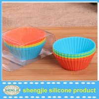 Popular silicone cupcake bake set muffin cupcake liners silicone baking mould
