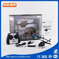 Cool black 3.5CH INFRARED electric superior rc helicopter with camera