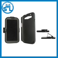 2in1 Combo Hard PC Belt Clip stand Shockproof mobile phone Armor Case for Samsung S3 S4 S5 S6 S6 edge S6 edge plus S7