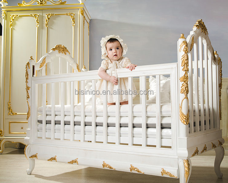 Cuisine By Design Vancouver :  Classic Crib, European Style Antique Luxury Children Bedroom Furniture