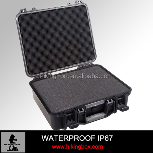 Hard Engineering PP Alloy Waterproof Plastic Camera Case/Outdoor Equipment Case/Hard Shell Plastic Box HTC014-1