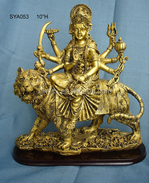 Decorative India ganesh moorti ganesh laxmi saraswati hindu god decoration