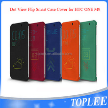 DOT VIEW Premium Flip Smart CASE COVER FOR HTC One M9