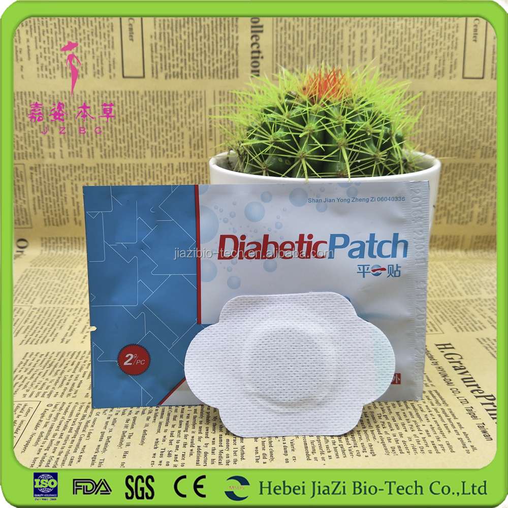 Diabetes patch chinese herbal patch diabetes treatment apparatus