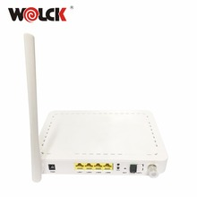 hot sell single fiber ftth 4GE+CATV+WIFI GPON ONT modem same with huawei HG8247H
