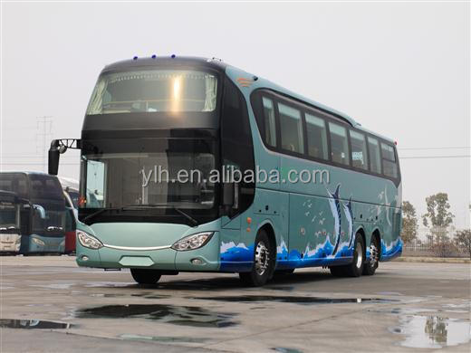 Price Of A New Model Luxury Passenger Coach Bus 60 Seater For Sale