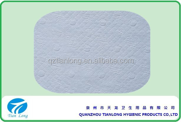 Raw Materials hot air through Nonwoven Fabric