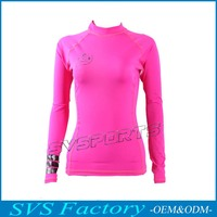 Long Sleeve Custom Rash Guard