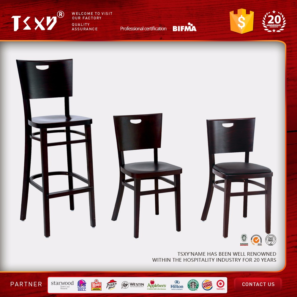 modern wood design dining chair