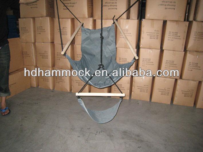 Poteau en bois balan oire suspendue chaise pour chambres for Balancoire pour chambre