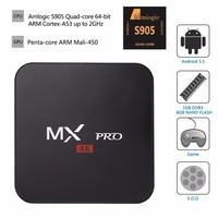 2016 smart android tv box Amlogic s905 MX PRO 4K Android box Best selling products in america