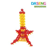 Eiffel Tower kids plastic building blocks educational toys