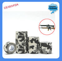 Cotton Camouflage Self Sticky Elastic Bandage by CE/FDA/ISO Approved!