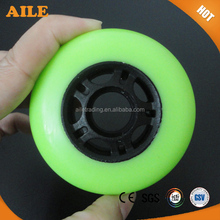 High Quality High Rebound PU Inline Skate Wheels For Skate Roller