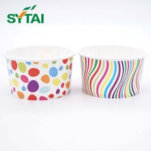 Yogurt use wholesale customized disposable paper ice cream bowl