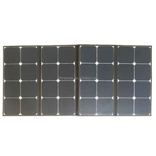 100W 120W 200w 12V sunpower folding portable solar panel