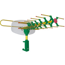 Factory Supply Hot Sale Remote Controlled Rotating High Gain Uhf Vhf Outdoor Antenna Gr-7000