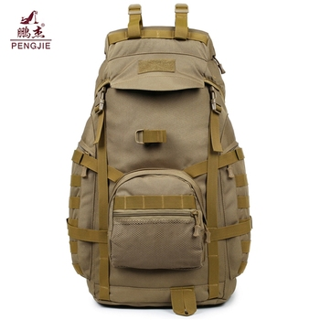 Factory wholesale large Multifunctional waterproof 900D outdoor hiking tactical backpack