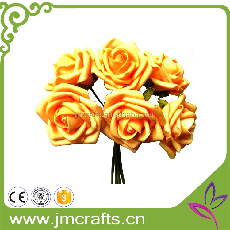 Decorative artificial soap flower bouquet