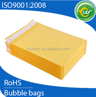 bubble cushion mailers yellow kraft bubble envelopes keep 100% safe for your items, Kraft paper bag heat seal
